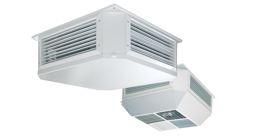 WOLF ceiling mounted ventilation units de luxe