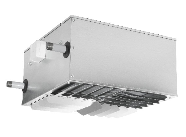 Discharge louver 502